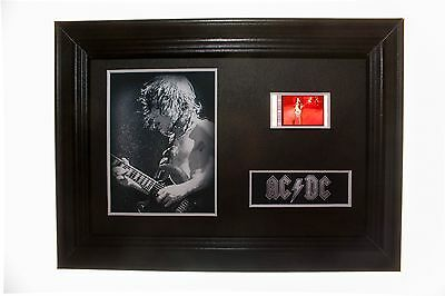 ACDC - 6x4 Framed movie film cell display, Nice Christmas Gift