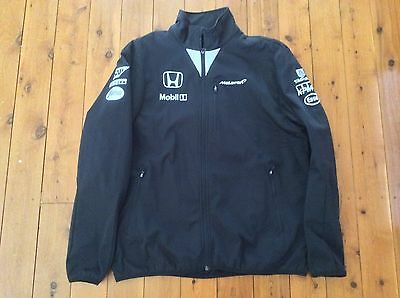2015 McLAREN HONDA SOFTSHELL JACKET F1 2XL