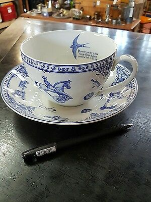 Edwardian Childhood By Spode England Large Cup And Saucer