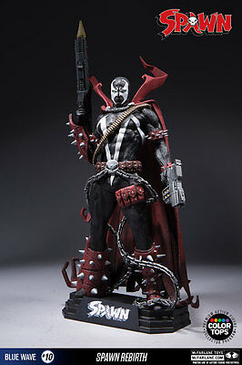 McFARLANE SPAWN - #10 SPAWN REBIRTH COLLECTORS EDIT.  -  COLOR TOPS FIGUR - NEU