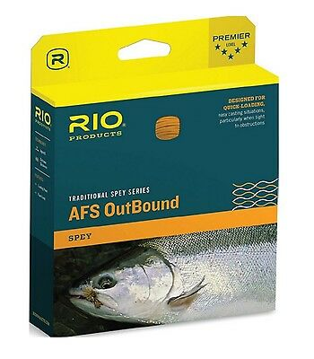 Rio Traditional Spey Series AFS Outbound Fly Line #7/8F Fishing Salmon