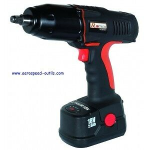 """Cle A Choc A Batterie Lithium Mandrin Carre 1/2"""" 18V"""