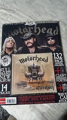 Motörhead Aftershock Limited Edition Fan Pack with 132 magazine etc.