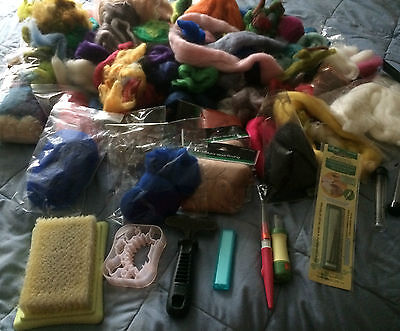 Needle Felting Job Lot Clearout, Clover needles HUGE