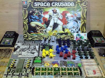 SPACE CRUSADE  - MB - GAMES WORKSHOP - BARLEY USED! (Marines, Dreadnought) #106