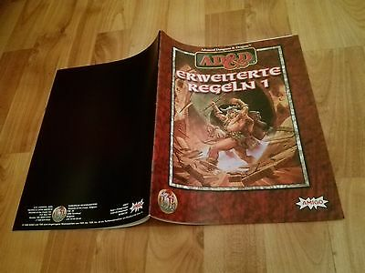 Erweiterte Regeln 1 Band Ad&d Tsr  Advanced Dungeons & Dragons Ad&d Fast Neuw.