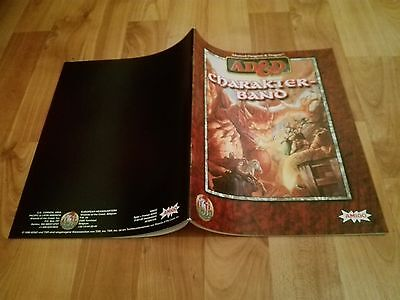 Charakter Band Charakterband Ad&d Tsr  Advanced Dungeons & Dragons Ad&d
