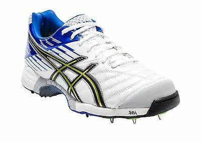 NEW ASICS GEL CRICKET SHOES SPIKES BOOTS RRP £90 adults SIZES 6 to 14 uk