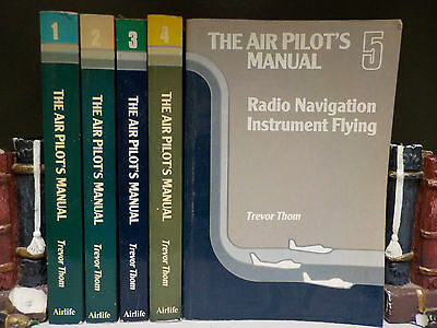 Trevor Thom - The Air Pilot's Manual (Vols 1-5) - 5 Books Collection! (ID:43605)