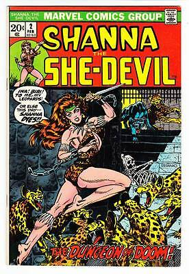 SHANNA THE SHE-DEVIL #2 - 1973 Marvel Comics - Jim Steranko cover