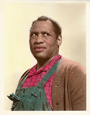 TALES OF MANHATTAN (1942) Vintage original 8x10 color glos photo of Paul Robeson