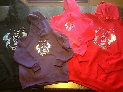 Adults Personalised Minnie Mouse Hoodie