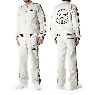 adidas Star Wars Stormtrooper A15 Leather Track Suit - M - ultra rare - with box