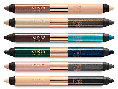 KIKO In The Shade Eyeshadow And Kajal Full Range Available Brand New