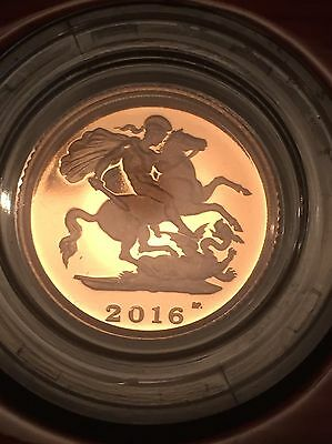 2016 gold proof half sovereign