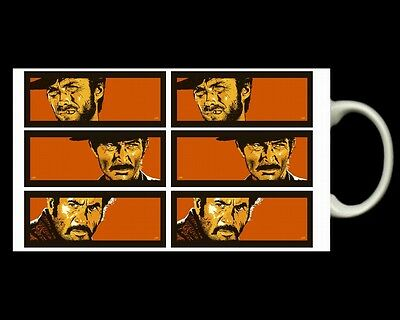 THE GOOD THE BAD AND THE UGLY MUG with Clint Eastwood 1