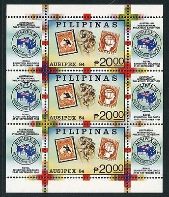 Philippines 1984 Ausipex Exhibition MS MNH