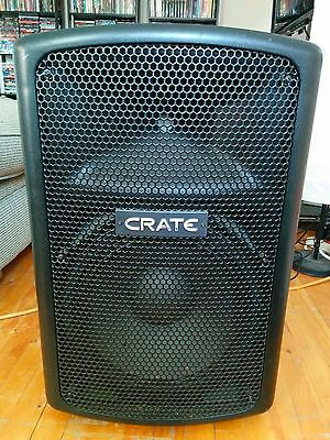 "Crate PSM12P 12"" 400W Powered PA Speaker"