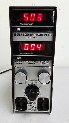 Hoefer Scientific Instruments PS 500XT 500 V 400 MA 200 W