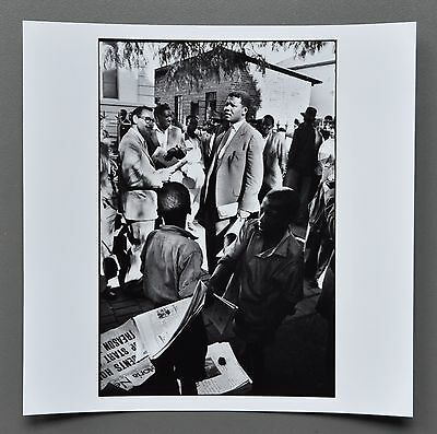 Ian Berry Magnum Archival Photo Print Nelson Mandela South Africa 1961 Signed