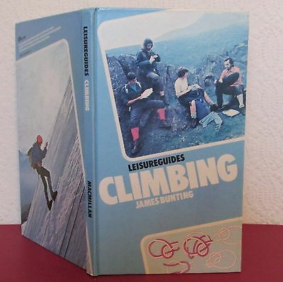 Leisure Guides CLIMBING James Bunting 1973 Fell Walking Rock Climbing Guide HB