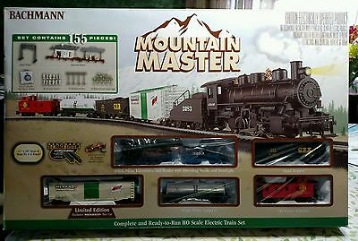 Bachmann Mountain Master ready-to-run HO Scale electric train set