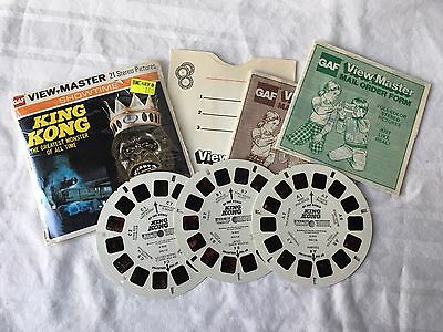 King Kong Greatest Monster of All Time Gaf Viewmaster B392