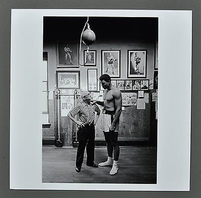Thomas Hoepker Magnum Archival Photo Print Muhammad Ali 1966 Signed Signiert B&W