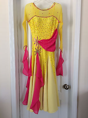 Ballroom Smooth Competition Dance Dress - Size 6-8