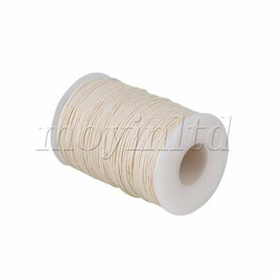 100 Meter Natural Hemp Waxed Thread Round Cord Leather Craft Line Hand Stitching