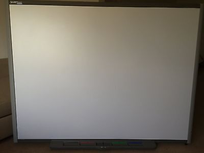 """77"""" SMART BOARD (SB680) INTERACTIVE WHITEBOARD with tray & pens"""