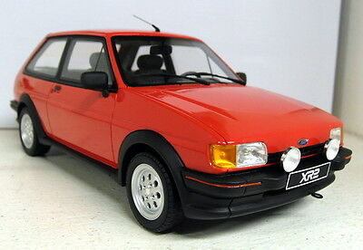 Otto 1/18 Scale Ford Fiesta XR2 Mk2 Red Resin Cast sealed Model Car