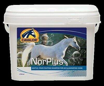 Cavalor Norplus 475ml Shampoo Horse Shampoo Summer months cleans protects Care