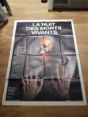 affiche cinema 120x160 la nuit des morts vivants