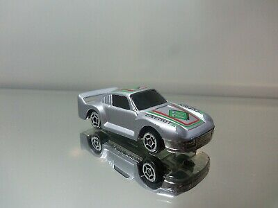 1980's Summer Die Cast Porsche Racer - Silver #77 Energy Tampo - N.Mint Loose