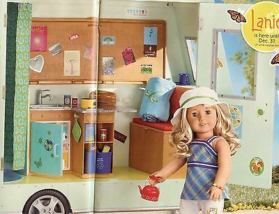 FREE SHIP PROMOTION * NEW in Box American Girl of Year 2010 LANIE CAMPER CAR