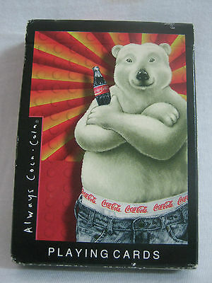 coca cola : a sealed deck playing cards , 90's