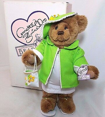 "Annette Funicello Collectible Bear Jointed 15"" Plush RETIRED Original Box & Tag"