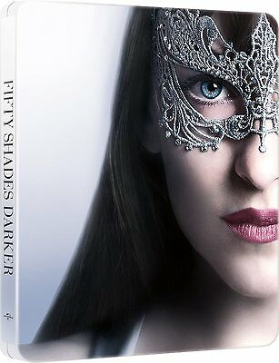 50 CINQUANTA SFUMATURE DI NERO - EDIZIONE STEELBOOK (BLU-RAY) Dakota Johnson