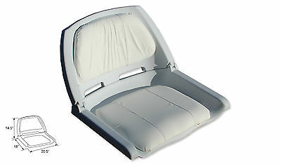 Fold down Boat Seat Boat Folding Chair Molded Fishing Seat
