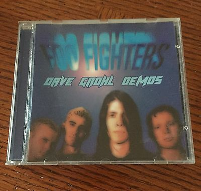 Foo Fighters Dave Grohl Demos Rare Silver CD