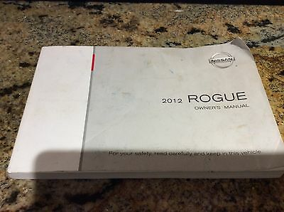 2012  Nissan Rogue Owners Manual