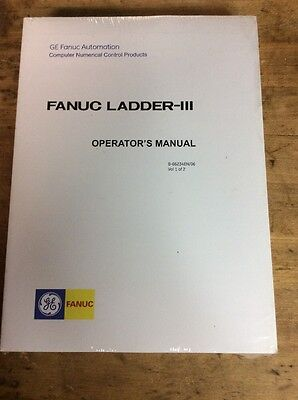 GE Fanuc Ladder III Operator's Manuals volume 1 & 2