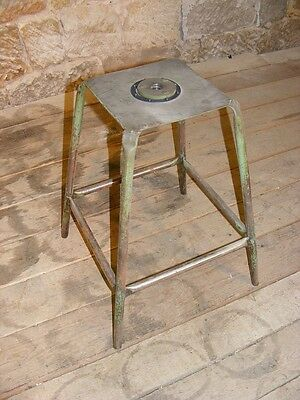 beautiful age Hocker, Art Deco Workshop stools, Vintage Bauhaus Design Chair
