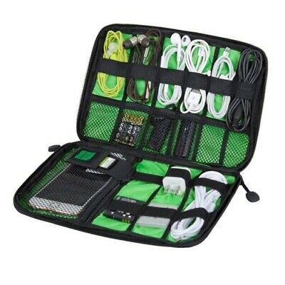 Electronic Accessories Cable USB Drive Organizer Case Portable Travel Insert Bag