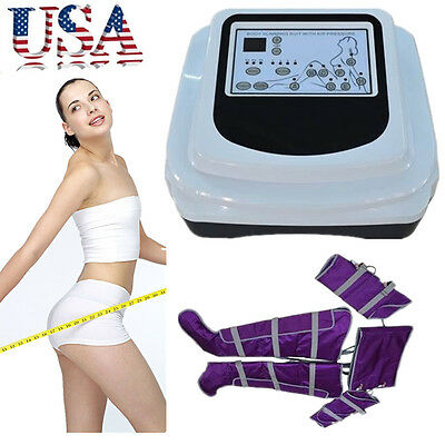 pressure therapy toxin weight loss lymph drainage slimming air pressure infrared