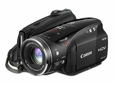 Canon HV30 HDV High Definition Camcorder bundled with extras