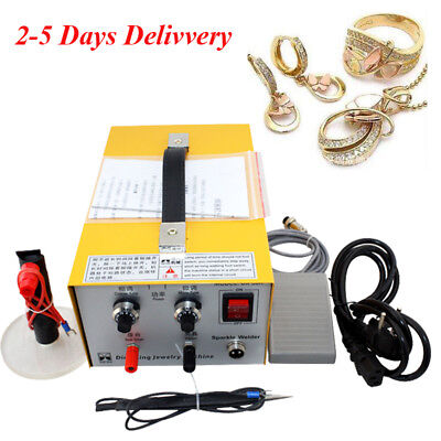 Carejoy Pulse Sparkle Spot Welder Electric Jewelry Welding Machine Gold Silver