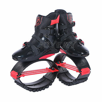 Black Red Kangoo Boots Jumping Shoes  Fitness Jump Shoes Bounce Shoes