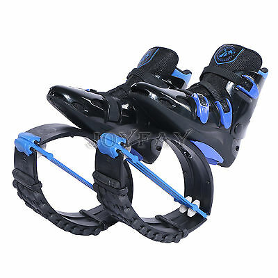 Black Blue Kangoo Boots Jumping Shoes Fitness Jump Shoes Bounce Shoes